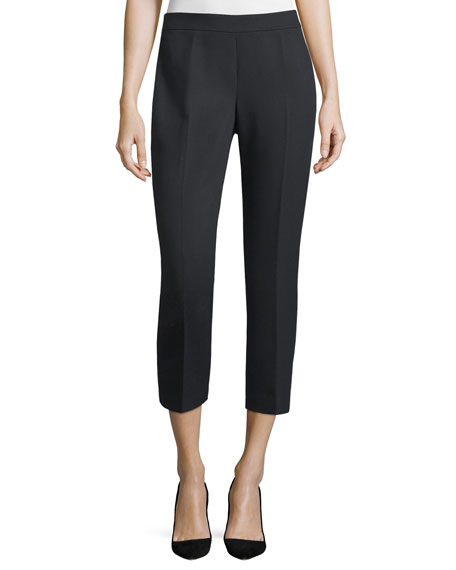 kate spade new york cobie cropped cigarette pants,