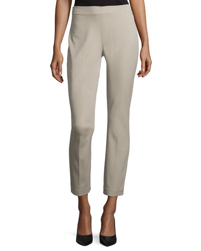 Juliette Slim-Leg Ankle Pants