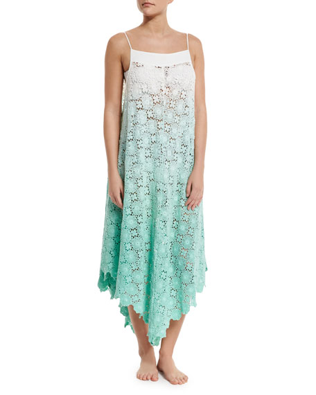 6 Shore Road by Pooja Southbay Crocheted-Lace Coverup