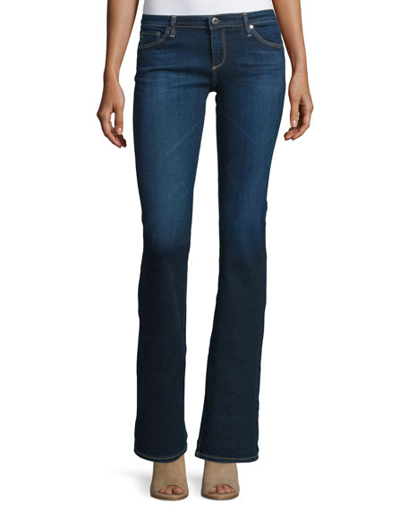 AG The Angelina Petite Boot-Cut Jeans, Smitten