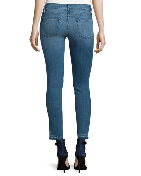 Le Skinny De Jeanne Cropped Jeans, Osage