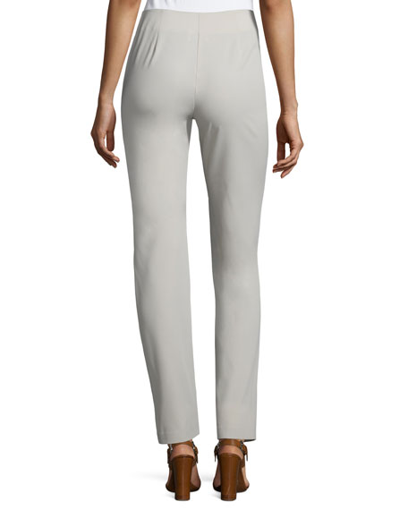 Mid-Rise Skinny Pants, Tan