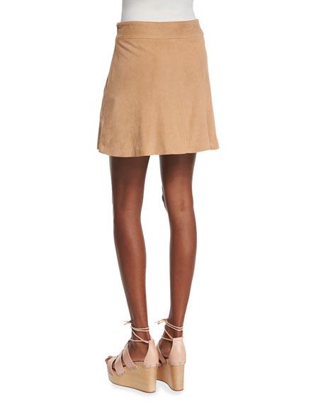 Graton Soft Suede Skirt