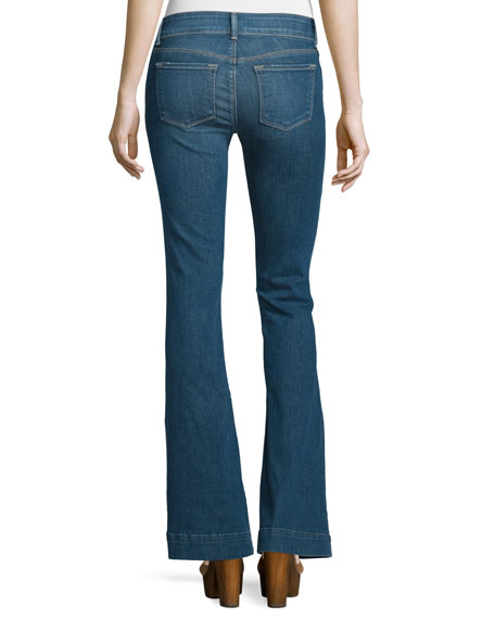 Lovestory Low-Rise Flare-Leg Jeans, Connected