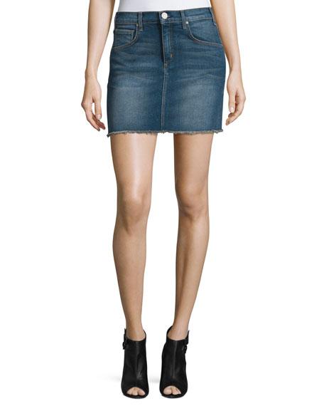 McGuireDeconstructed Denim Mini Skirt, Fortunado