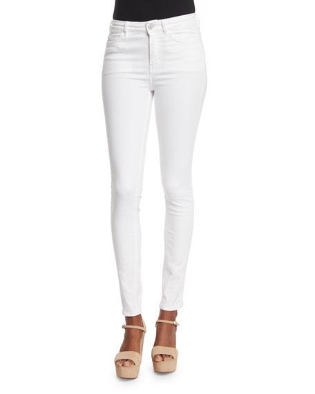MiH Bodycon Skinny Jeans, White