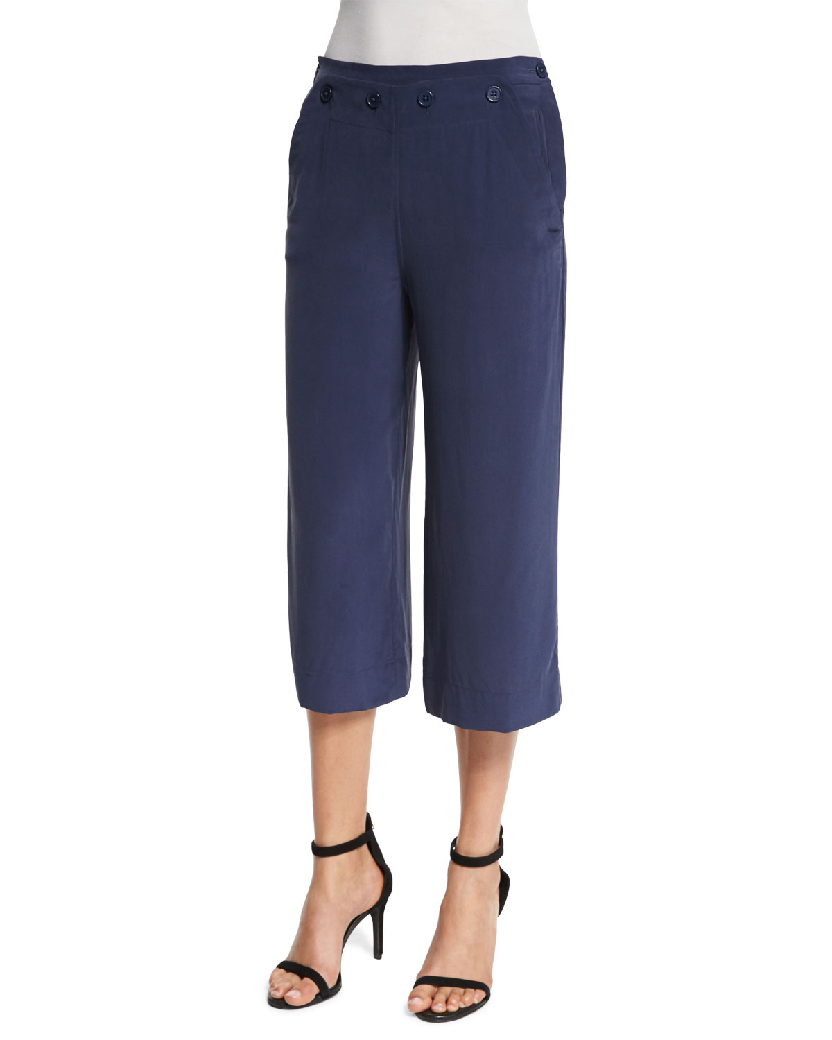 TROUSERS - 3/4-length trousers SUPERVINTAGE 7BEgc