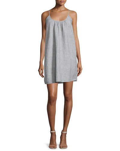 Jorell Sleeveless Linen Dress