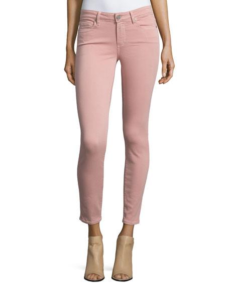 Paige Denim Verdugo Skinny Ankle Jeans, Soft Pink