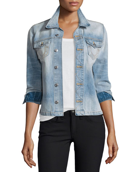 True Religion Nora Denim Shirt Jacket, Monday Blues