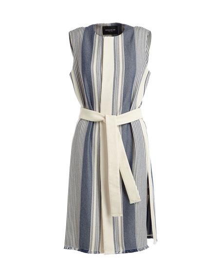 Fergie Belted Striped Vest