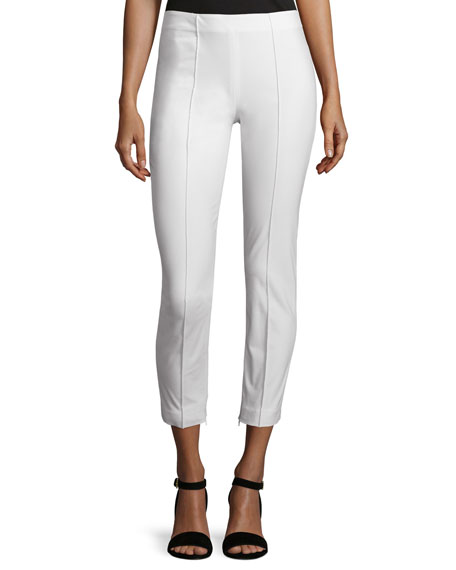Theory Alettah Approach 2 Pants, New Ivory