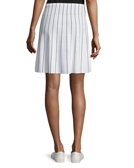 Lotamee P Prosecco Striped Skirt