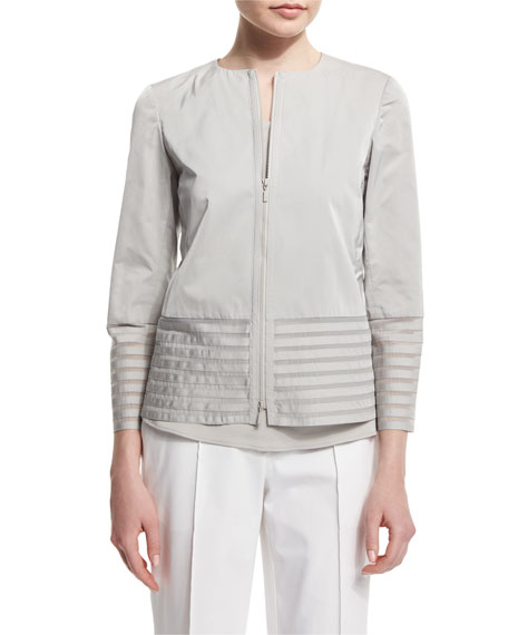 Lafayette 148 New York Aisha Jacket with Illusion