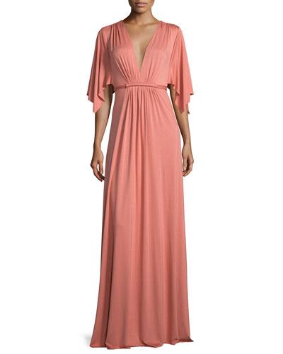 Long Caftan Dress, Mojave, Women's