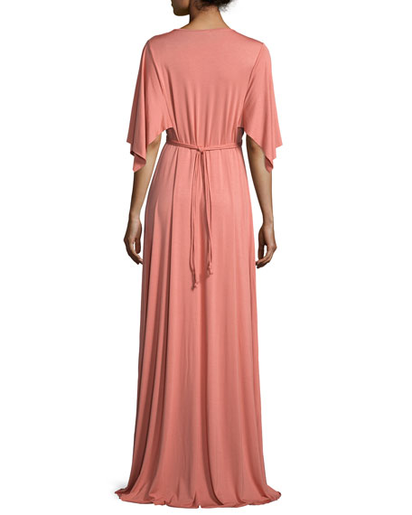 Long Jersey Caftan Dress, Mojave