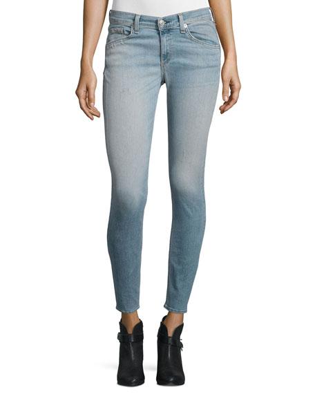 rag & bone/JEAN Capri Mid-Rise Skinny Jeans, Hanover