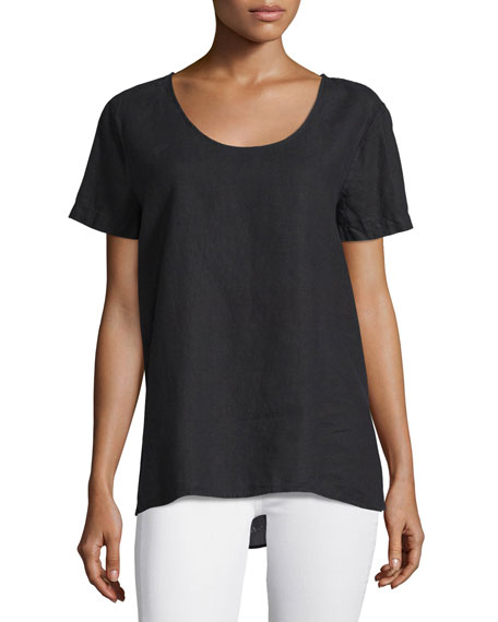 JWLA for Johnny Was Sunniva Embroidered-Back Tee