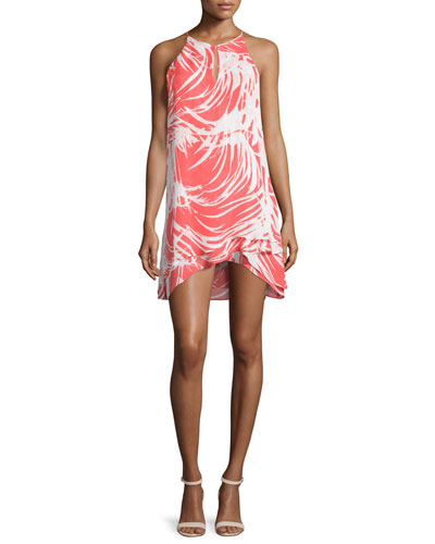 Priscilla Sleeveless Printed Dress, Cordoba
