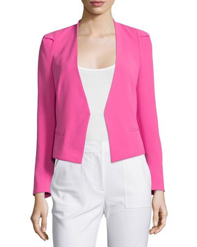 Refined Stretch Suit Jacket, Fuchsia