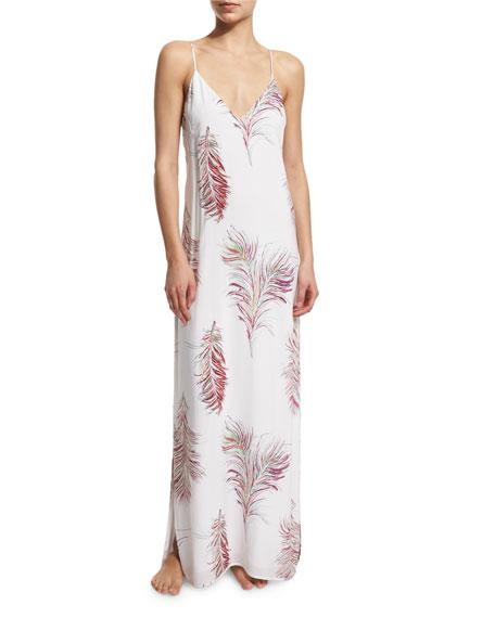 Vix Krishna W Milos Printed Maxi Dress