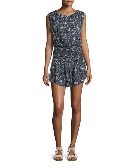 LoveShackFancy Mila Printed Cotton Dress