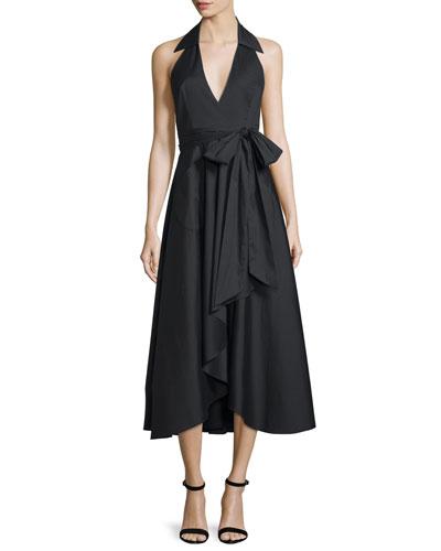 Kate Halter Midi Dress