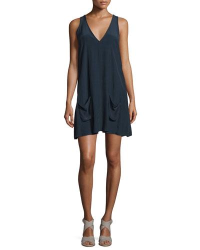 Kalyan V-Neck Sleeveless Dress