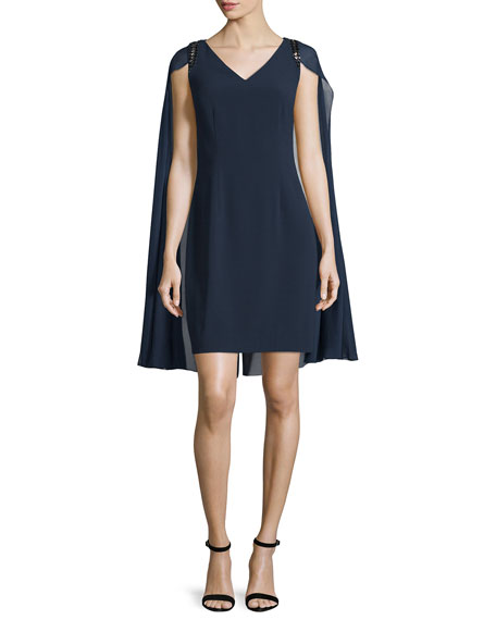 Kay Unger New York Sheath Cocktail Dress with