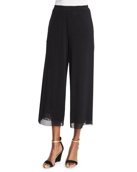 Fuzzi Ankle-Length Cropped Pants