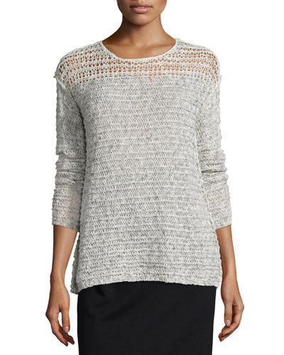 Russel Long-Sleeve Sweater, Blithe/Buff Reviews