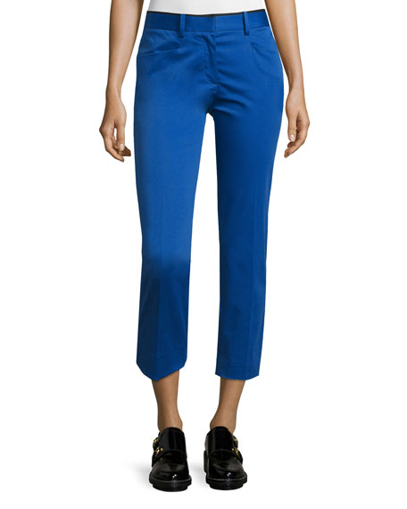 Rag & Bone Audrey Cropped Stretch Pants, Clematis