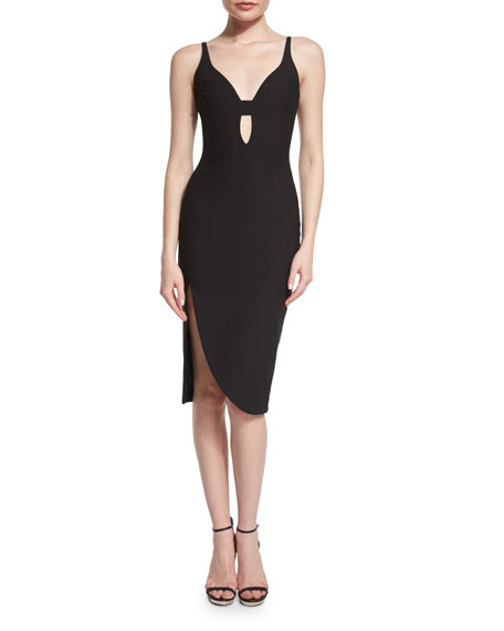 Elizabeth and James Myla Sleeveless Sheath Dress, Black