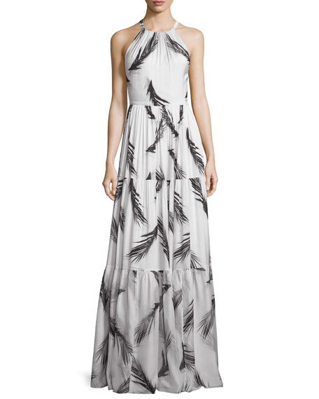 ZAC Zac Posen Maeve Sleeveless Tiered Maxi Dress