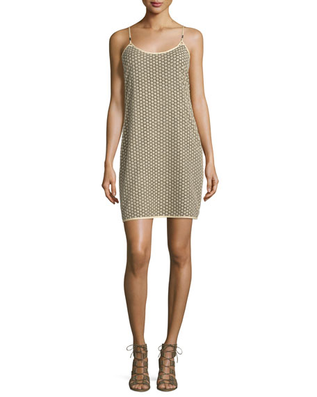 Diane von Furstenberg Alvera Sleeveless Lace Shift Dress,