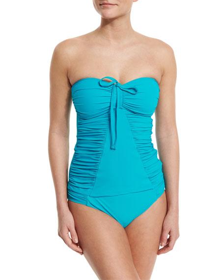 Profile by Gottex Swan Lake Ruched Bandini Swim
