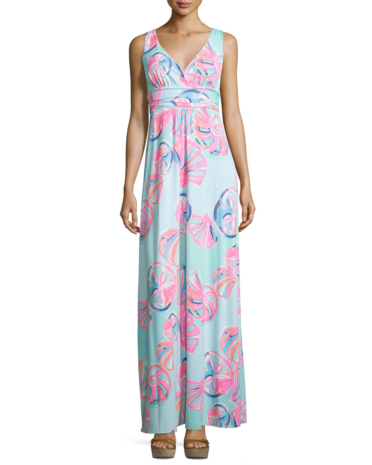 Lilly Pulitzer Sloane Printed Jersey Maxi Dress Neiman Marcus