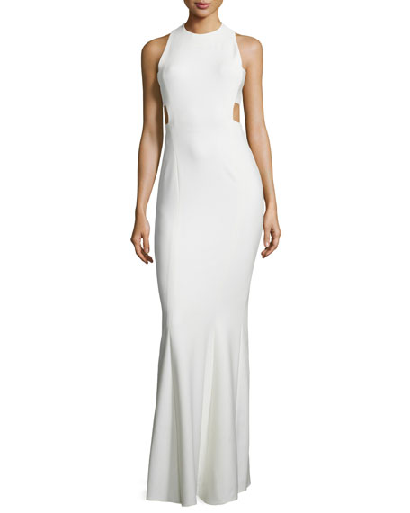 Elizabeth and James Russell Sleeveless Maxi Dress, Ivory