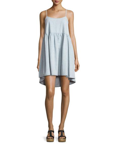The Great The Terrace Sleeveless A-Line Dress, Light