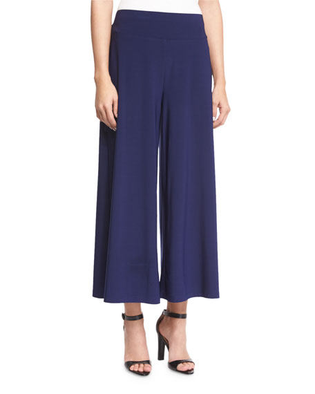 NIC+ZOE Luxe Jersey Cropped Pants, Abyss, Petite