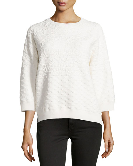Halston Heritage BOAT NECK L/S SWEATER