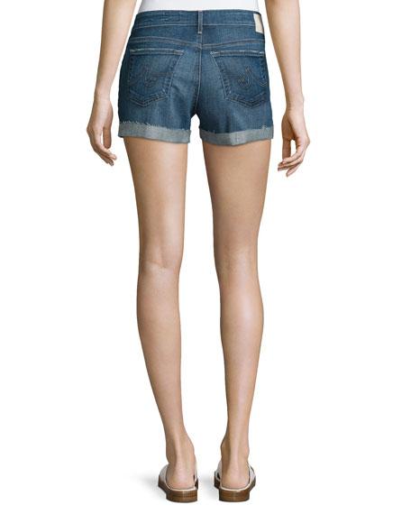 The Hailey Raw-Hem Shorts, 10 Years Day Off
