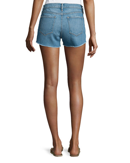 Le Cutoff Raw-Edge Shorts, Russell Cave