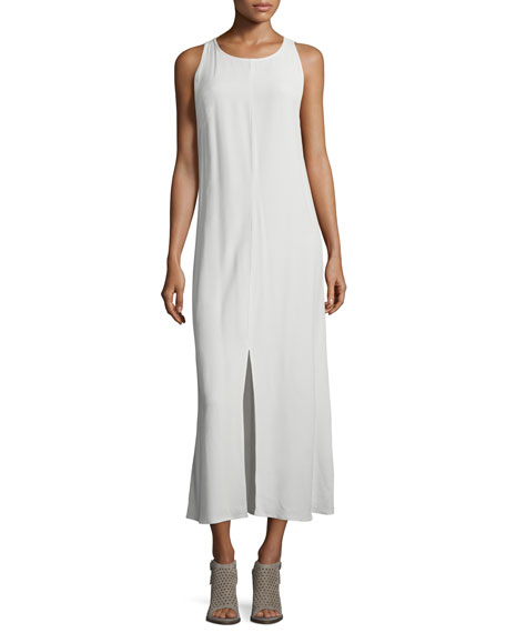 Eileen Fisher Fisher Project Sleeveless Round-Neck Maxi Dress,