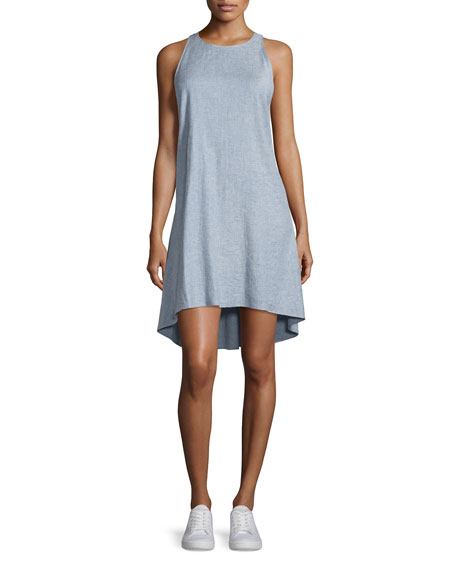 Theory Adlerdale SL Tierra Sleeveless Dress