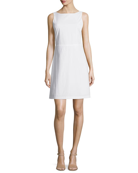 Theory Jozzla Light Poplin Sleeveless Dress