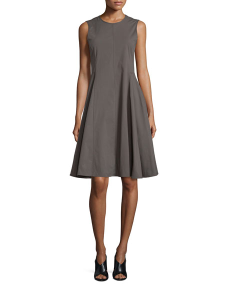 Theory Kalsington Cn. Light Poplin Dress