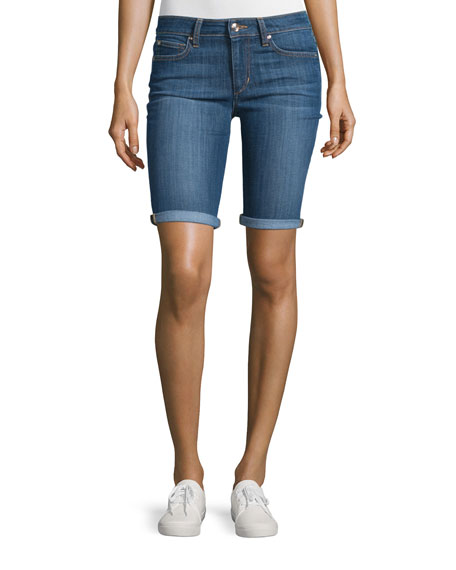 Joe's Jeans Easy Bermuda Denim Shorts, Kelsie