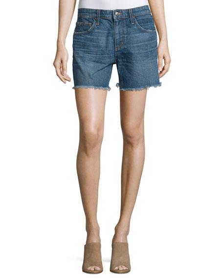 Joe's Jeans The Ex-Lover Raw-Hem Denim Shorts, Antonia