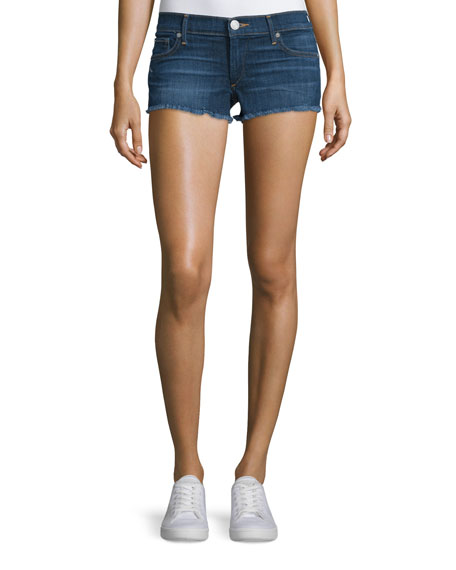 True Religion Joey Cutoff Denim Shorts, Worn Vintage